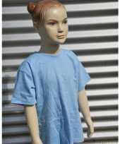 Lichtblauw t shirt kinderen