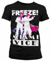 Miami vice freeze kleding dames shirt