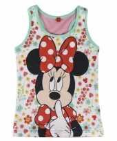 Minnie mouse mouwloze shirts meiden