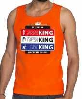 Oranje kingsday if you like tanktop mouwloos shirt heren
