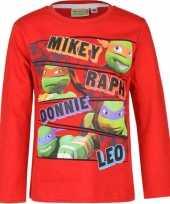 Rode ninja turtles shirt kids