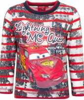 Rood shirt mc queen cars