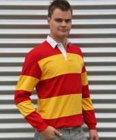Rugbyshirts rood geel