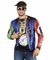 Shirt rapper jasje opdruk