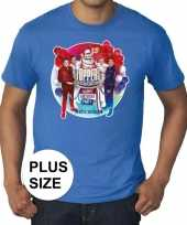 Toppers grote maten blauw toppers concert 2019 officieel shirt heren 10137578