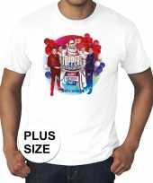 Toppers grote maten wit toppers concert 2019 officieel shirt heren