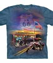 Volwassene shirts biker route 66