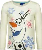 Wit-shirt olaf frozen